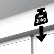 NEWLY R40 Deckenschiene 20kg