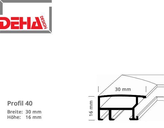 DEHA Profil 40