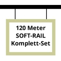 Soft-Rail Komplettset, 120 Meter