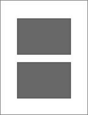 2 Ausschnitte 13x18 cm