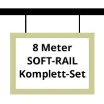 Soft-Rail Komplettset, 8 Meter