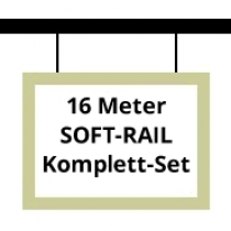 Soft-Rail Komplettset, 16 Meter