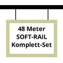 Soft-Rail Komplettset, 48 Meter