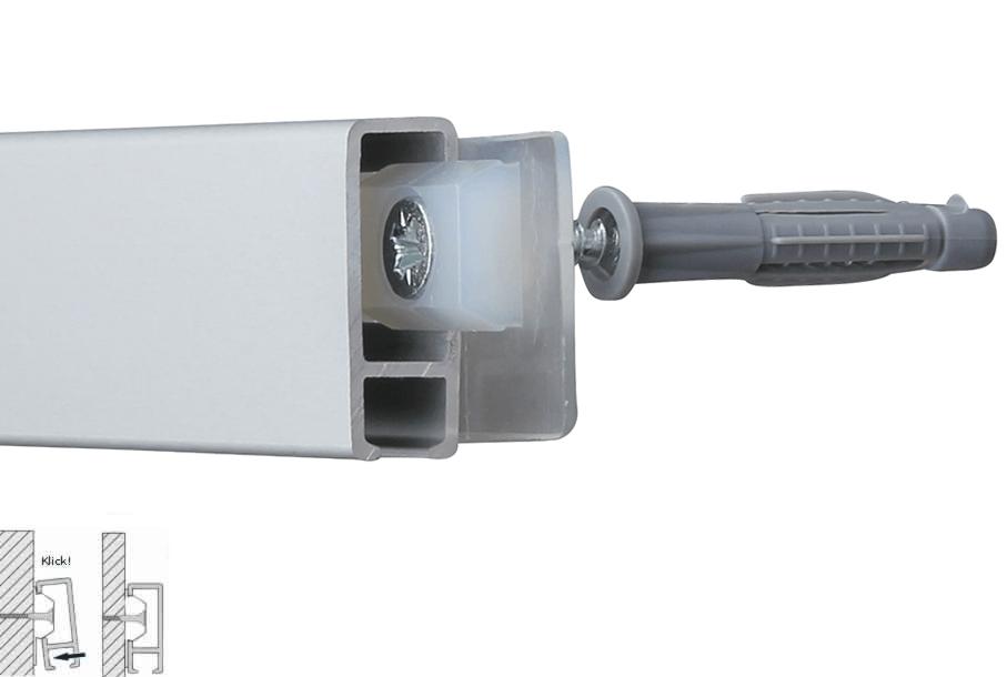 Power-Clip, Schrauben, Dübel