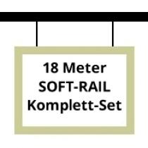 Soft-Rail Komplettset, 18 Meter