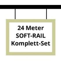 Soft-Rail Komplettset, 24 Meter