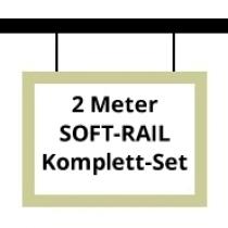 Soft-Rail Komplettset, 2 Meter