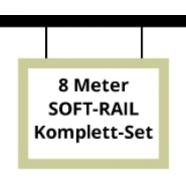 Soft-Rail® Komplettset, 8 Meter