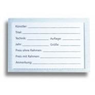 Etikettentaschen und Grafikhüllen Zubehör