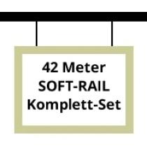 Soft-Rail Komplettset, 42 Meter