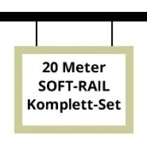 Soft-Rail Komplettset, 20 Meter