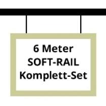 Soft-Rail Komplettset, 6 Meter