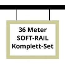 Soft-Rail Komplettset, 36 Meter