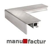 Geschliffener Stahlrahmen mit Winkelprofil