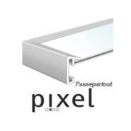 Nielsen Pixel 22x22 cm mit Passepartout