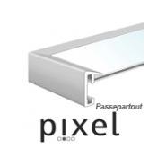 Nielsen Pixel mit Passepartout
