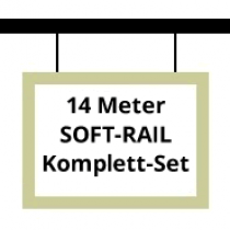 Soft-Rail Komplettset, 14 Meter