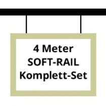 Soft-Rail Komplettset, 4 Meter