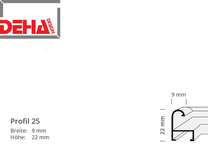 DEHA Profil 25, Zuschnittprofil