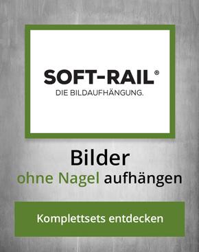 Bildaufhängung Softrail Bilderschienen Komplettsets Angebotsübersicht