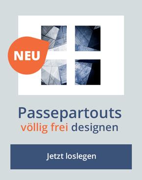 Designer für Passepartouts nach eigenen Maßen